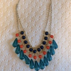 Colorful summer necklace